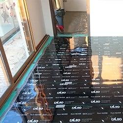 CALEO 80 W m2 pod laminat