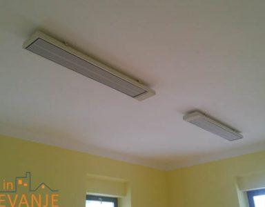 IR paneli montirani na strop Vita line industry Ecosun