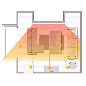 Infrardeci paneli in stenska montaza 2