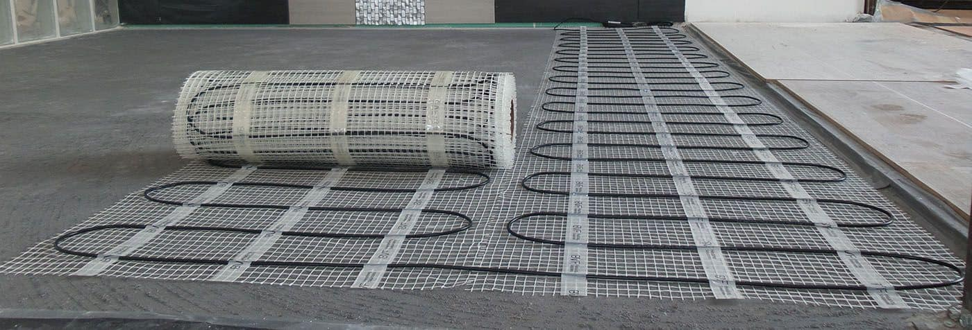 električna grelna mreža talno gretje