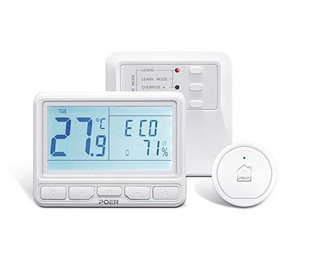poer ptc10ptr10ptg10 wifi wireless termostat